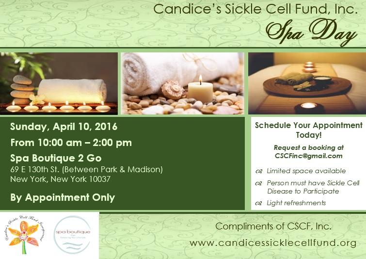 CSCF, Inc. Spa Day