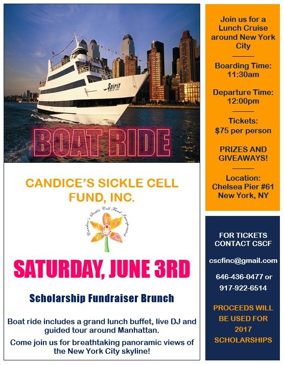 CSCF Scholarship Boat Ride