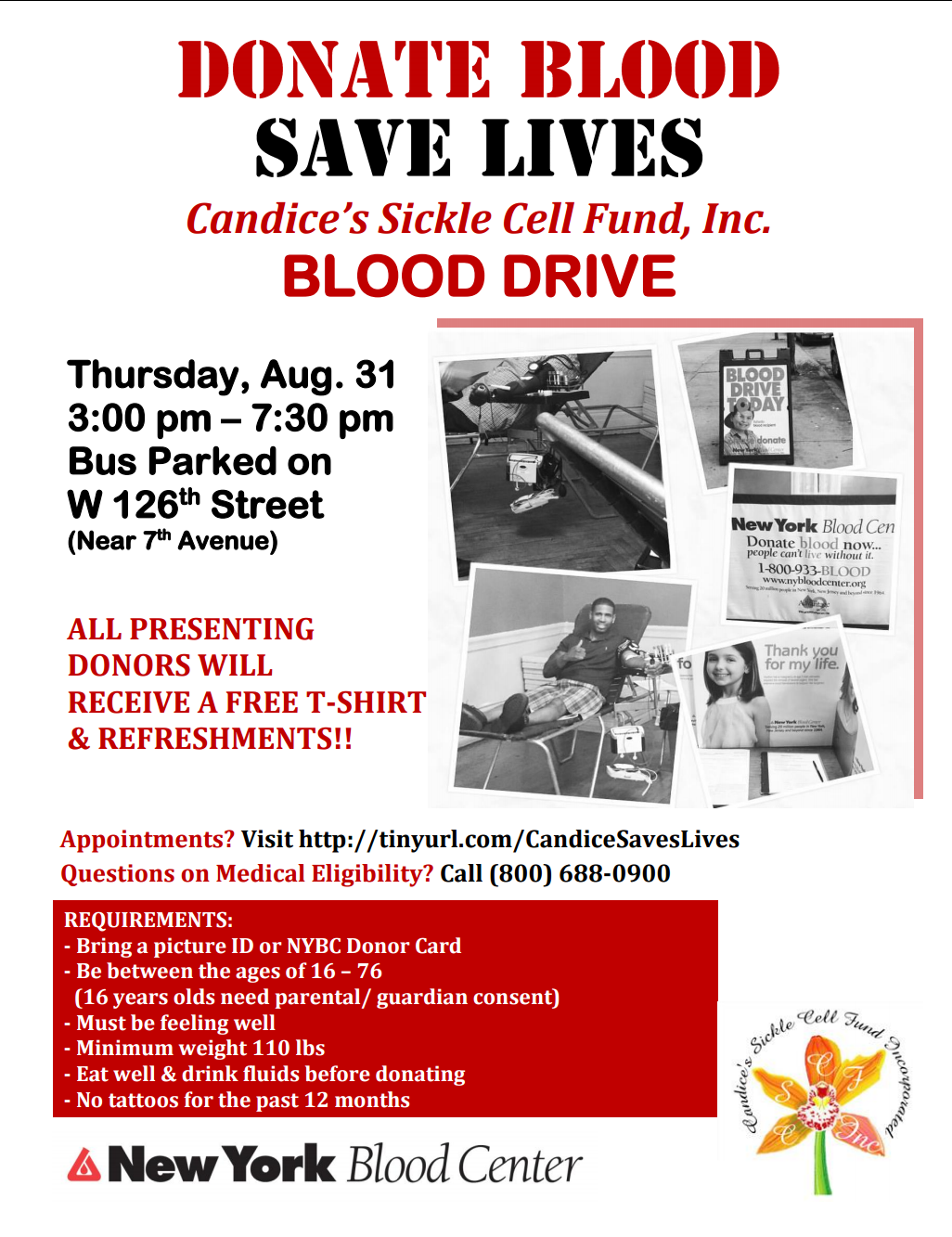 Sickle Cell Blood Drive
